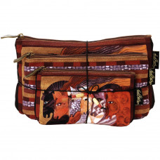 Набор сумок-косметичек Laurel Burch Cosmetic Bag Set Of Three, Moroccan Mares (LB5333)