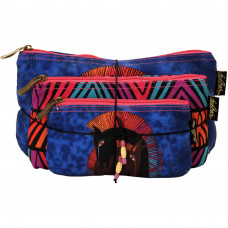 Набор сумок-косметичек Laurel Burch Cosmetic Bag Set Of Three, Embracing Horses (LB5330)