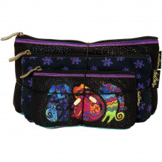 Набор сумок-косметичек Laurel Burch Cosmetic Bag Set Of Three, Dog & Doggies  (LB5335)