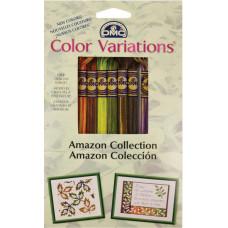 Набор мулине DMC Color Variations Floss Pack Амазонка (417XUS4)