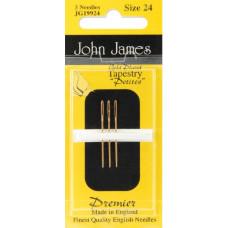Иглы гобеленовые золотые Petites John James, 24 (JG199 24)