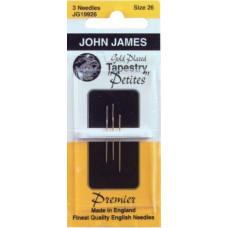 Иглы гобеленовые золотые Petites John James, 28 (JG199 28)