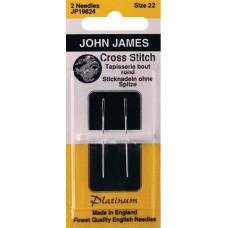 Иглы гобеленовые платиновые John James, 22 (JP198 22)