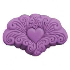 Формы для мыла Арабеска сердце (ARAHRT1583)*