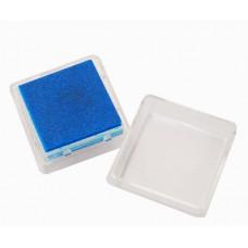 Штемпельная подушка c чернилом, темно-синяя (20-4888455)