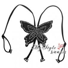 Шлейки Butterfly со стразами для бюстгальтера