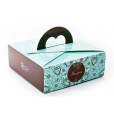 Коробка  Ручка - сердечко