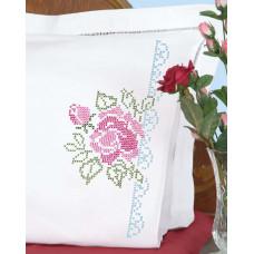 Наволочки Большая роза, 2 шт. (1600 386)
