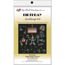 Набор для квиллинга День рождения (Q40 8)