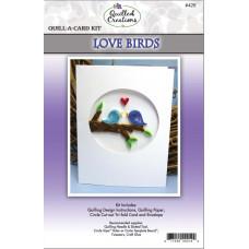 Набор для квиллинга Влюбленные птички (Q42 2)