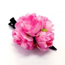 Заколка для волос Букет роз