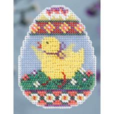 Набор для вышивания Mill Hill Яйцо с цыпленком (MH184105)