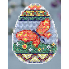 Набор для вышивания Mill Hill Яйцо с бабочкой (MH184102)