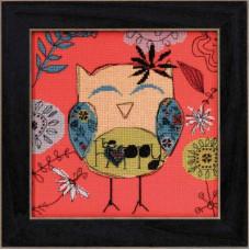 Набор для вышивания Mill Hill Будь счастлив (AW304101)