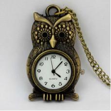 Часы Бронзовая сова