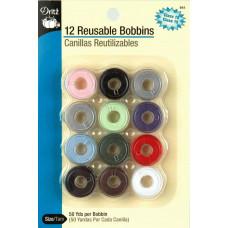 Набор шпулек пластиковых Dritz, 12 шт. (941)