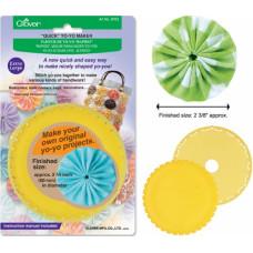 Устройство для изготовления кружков Yo-Yo из ткани (8703)