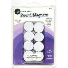 Магнит круглый, 100 шт (Q322)