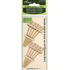 Бамбуковые иглы CLOVER (3143)