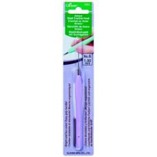 Стальной крючок для вязания с мягкой ручкой Amour 1.00cм (1223)