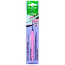 Стальной крючок для вязания с мягкой ручкой Amour 1.25 cм (1222)