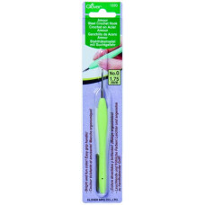 Стальной крючок для вязания с мягкой ручкой Amour 1.75 cм (1220)