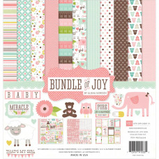Набор бумаги Bundle Of Joy Girl  (BJG45016)