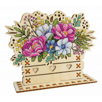Набор для вышивания крестом М.П.Cтудия Цветочная композиция (О-018)