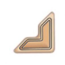 Уголки для фото самоклеющиеся бумажные Scrapbook Adhesives, крафт (3L-PC 1630)