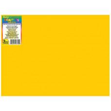 Лист из ЭВА-пены (фоамиран), Yellow (FOAMSHT2 22)