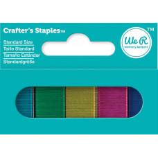 Цветные скобы Craftes Staples We R Memory Keepers (71281)