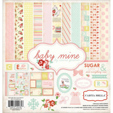 Набор бумаги Baby Mine Girl (BMG26016)