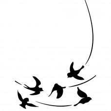 Папка для тиснения Birds In Flight (EB12 109)