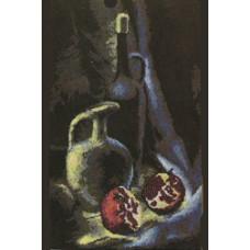 Набор для вышивания крестиком Чарівна мить Натюрморт с гранатом (СТ-26)