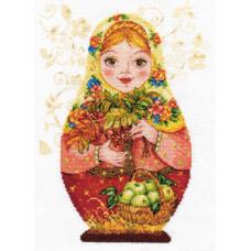 Набор для вышивания крестом Алиса Матрешки. Осенняя краса (6-06)