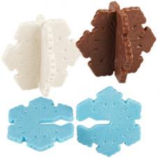 Формочки для создания 3D конфет Снежинки (W50021)