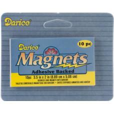 Листы магнитные 5 х 9 см., 10 шт.(10757-02)
