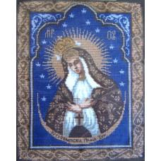 Набор для вышивания крестиком Чарівна мить Остробрамская Богородица (399)