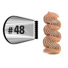 Насадка для кондитерского мешка №48 (W418 48)