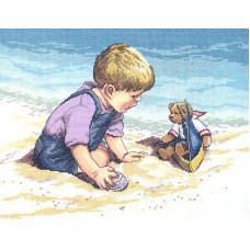 Игра на пляже (029-0057)