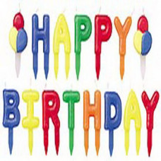 Набор свечей Happy birthday (W2811785)