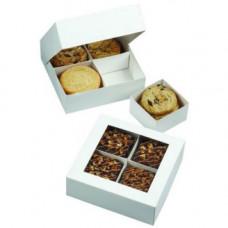 Коробка подарочная квадратная  с окошком, 3шт (W4151431)