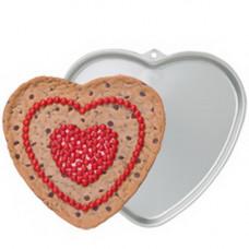 Металлическая форма для выпечки Большое сердце (W6203)