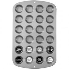 Металлическая форма для выпечки 24 мини кексов Верный рецепт (W914)