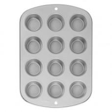Металлическая форма для выпечки 12 кексов Верный рецепт (W954)