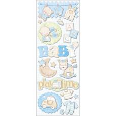 Высечки самоклеющиеся Малыш (K566576)