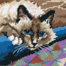 Набор для вышивания Dimensions Милый котик (7228)