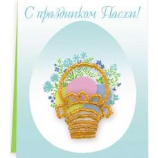 Набор для бисероплетения Риолис Пасхальная открытка (Б-087)
