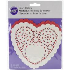 Бумажные салфетки Сердце Ассорти, 12 шт.(21040225)