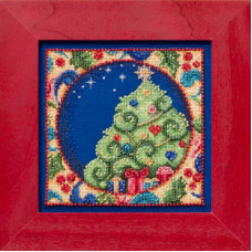 Набор для вышивания Mill Hill Елка (JS304104)